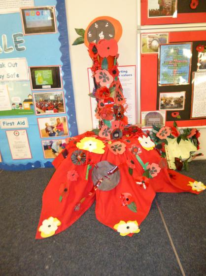Made mainly by Reception children