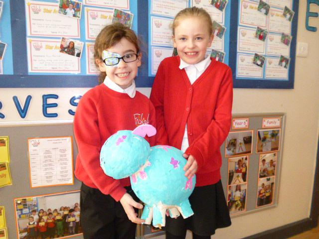 "H Y3 & O Y4 with hand made Snowdog ""Star"""