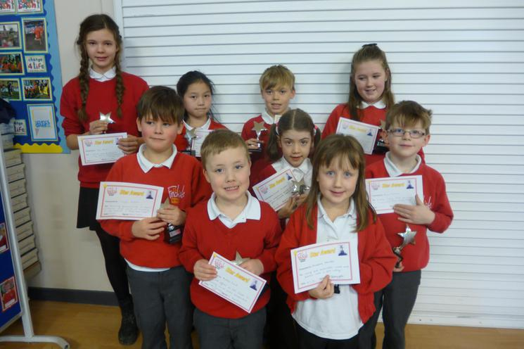 Star Award Recipients - Well Done!