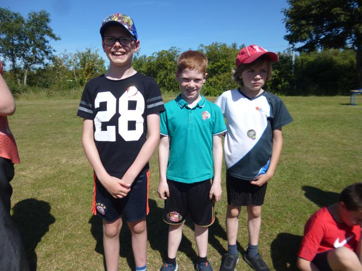 Year 4 Boys - Winners
