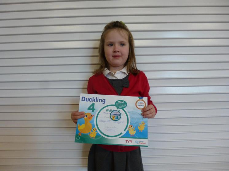 Well Done Phoebe Y1