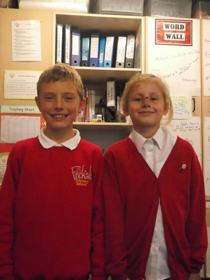 Charley and Imogen Y4