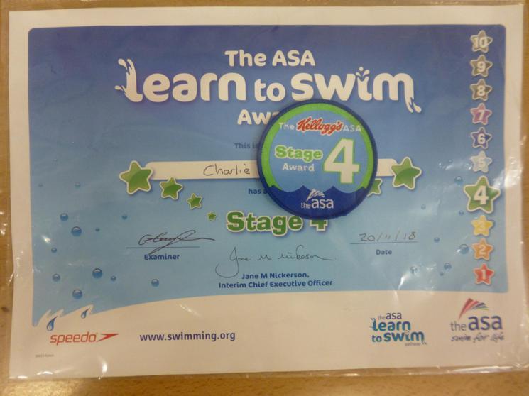 Level 4 Skills - Learn to Swim Programme