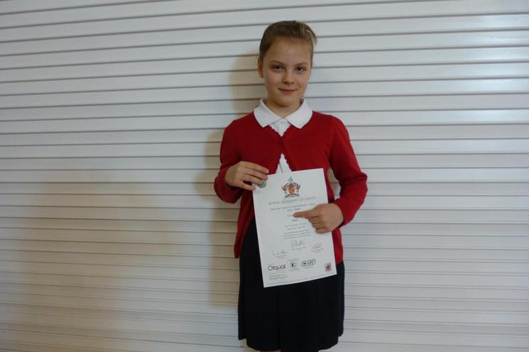 Well done Grace Year 4