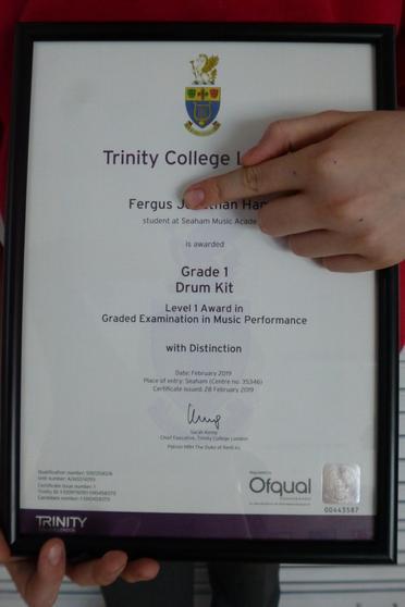 Well done Fergus!