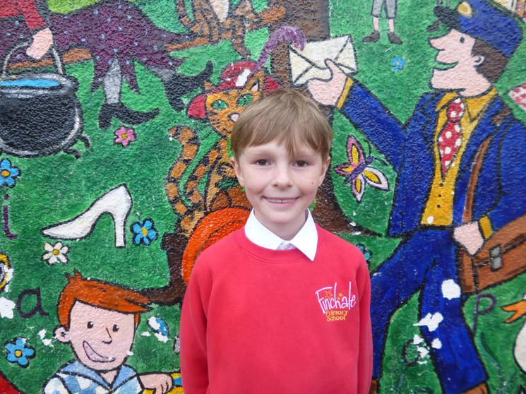 Thomas, Year 5, Runner of the Month