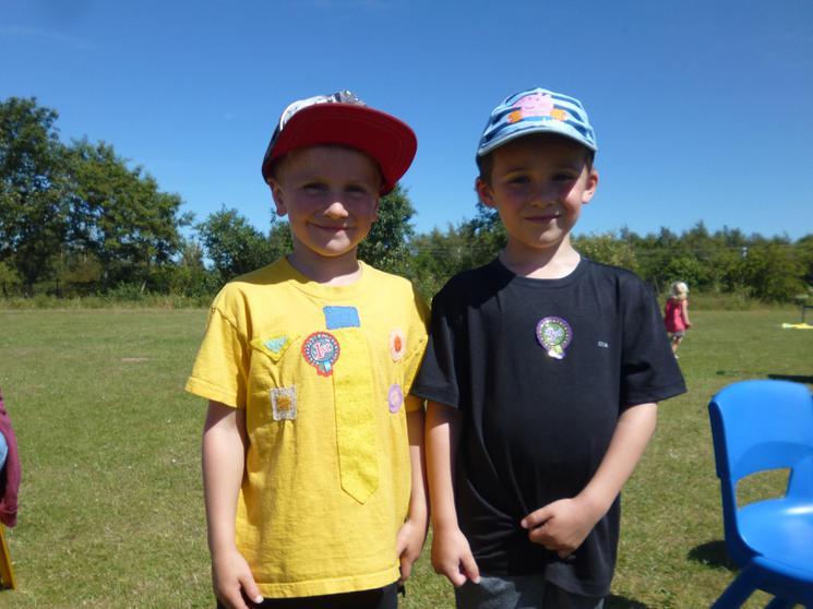 Reception Boys -  Winners