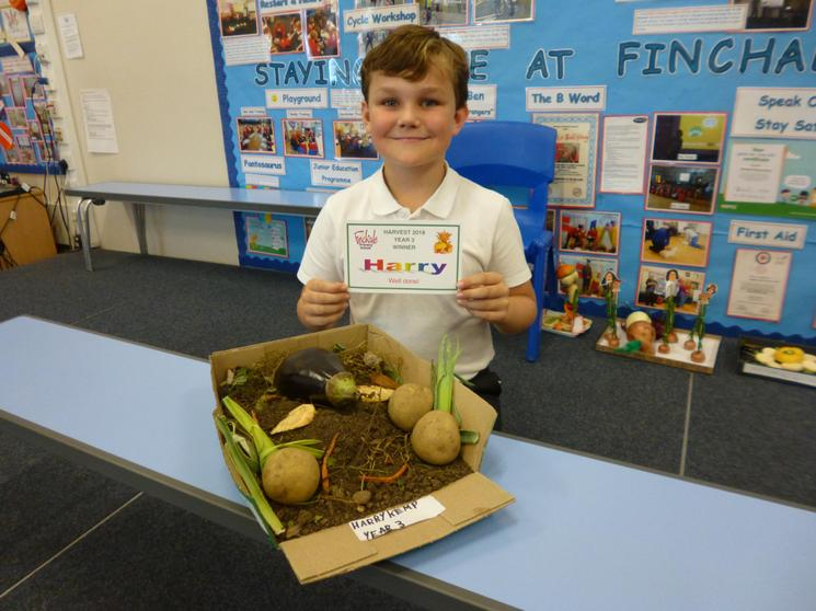 Year 3 Winner - Harry