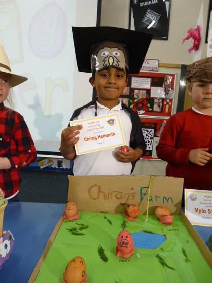Year 1 Runner Up: Chirag