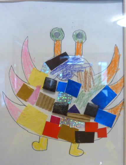 Y1 - We used different colours and textures.