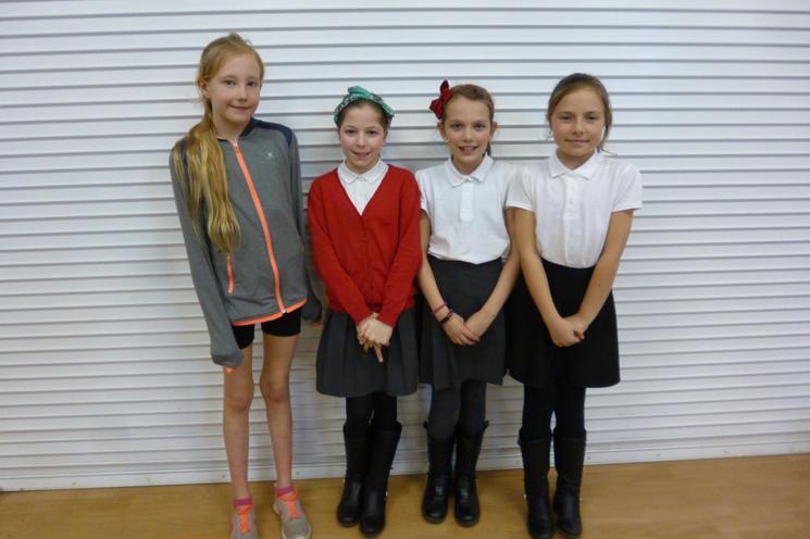 Eloisa, Molly, Millie & Sadie - MERIT PASS