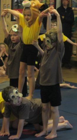 """I loved balancing!"" the children said."