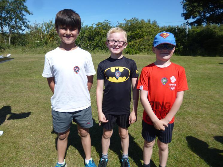 Year 3 Boys - Winners