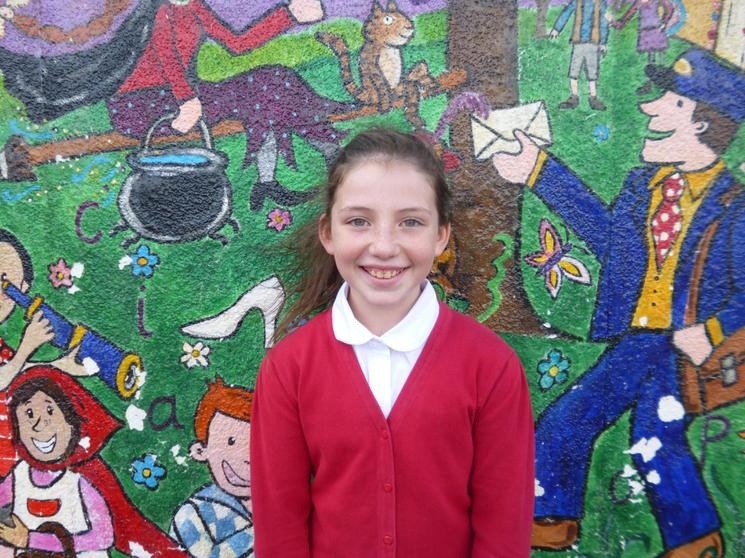 Jessica, Year 6, Runner of the Month