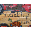 Peace & Friendship mural