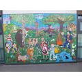 Literacy mural