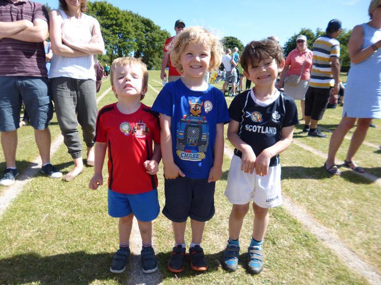 Boys Pre-Schoolers - Winners