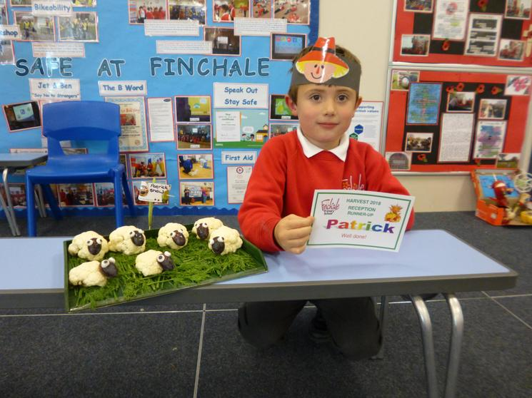 Reception Class Runner Up - Patrick