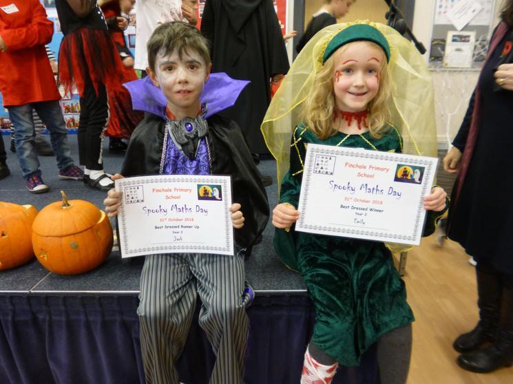 Year 2, Winner - Emily, Runner Up - Jack