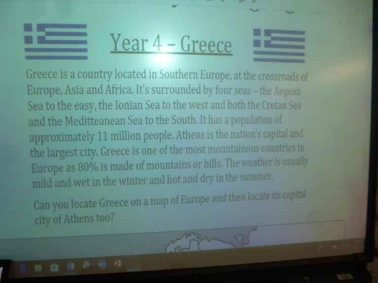 Year 4 - Greece