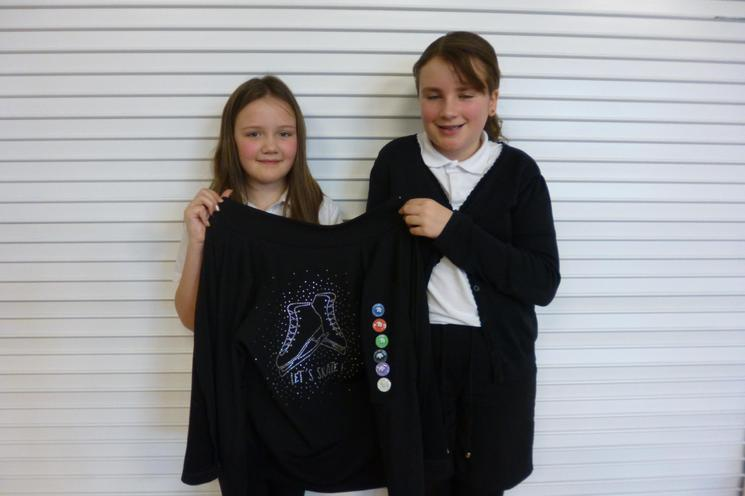Well Done! Lily R & Lily G