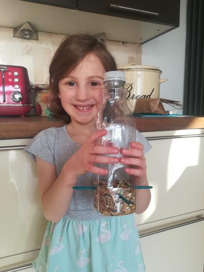 Joella's home-made feeder