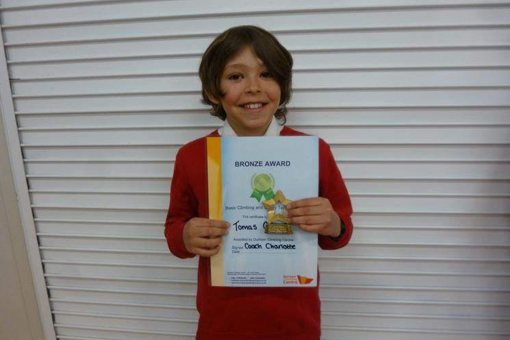 Well Done - Tomas Year 6
