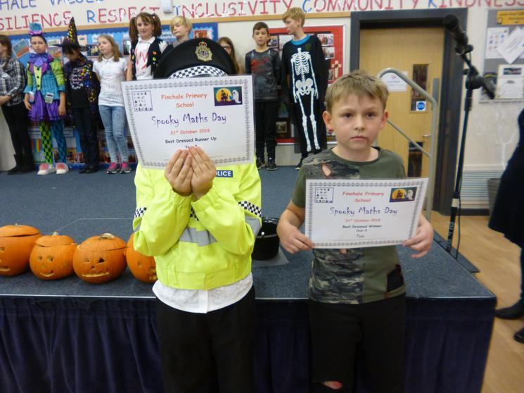 Year 5, Winner Evan, Runner Up - R