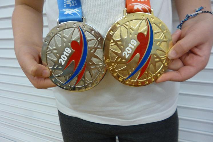 GI National Champ Gold - NOGI Age Gp Silver Medal