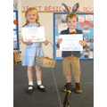 Reception Class - Ava & Tom