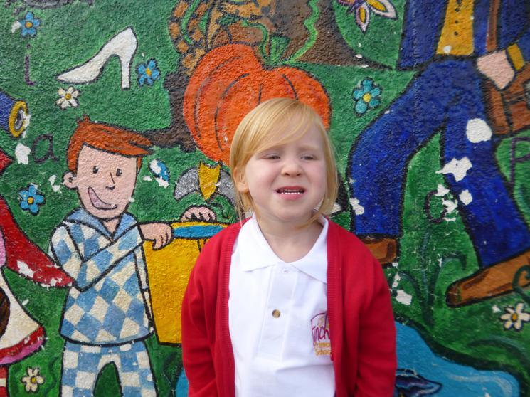 Chloe, Reception Class, Runner of the Month