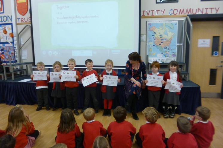 Reception children who know their Phase 2 Sounds