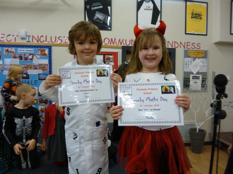 Year 1, Winner - Phoebe, Runner Up - Zach
