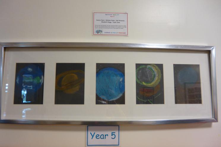 Planets by Year 5 (Artwork)