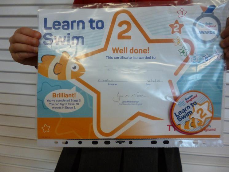 Learn to Swim Level 2
