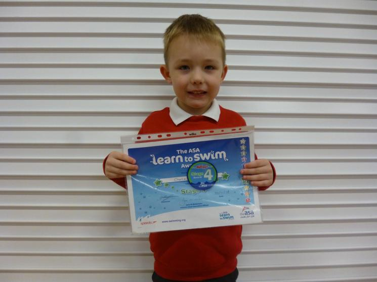 Well done to Charlie Y2!