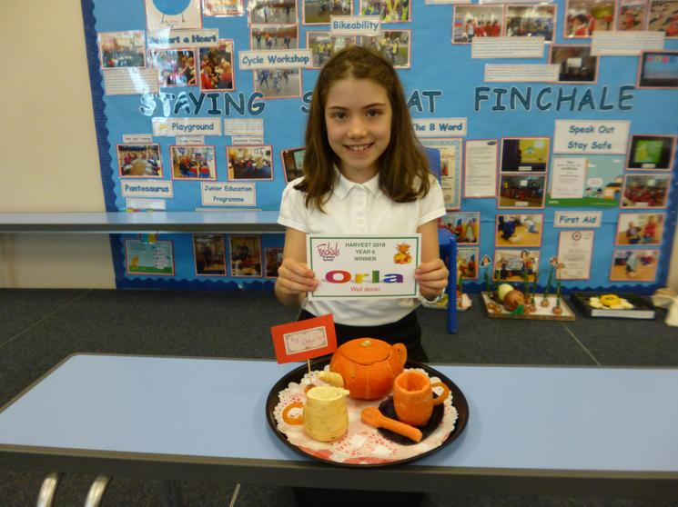 Year 6 Winner Orla