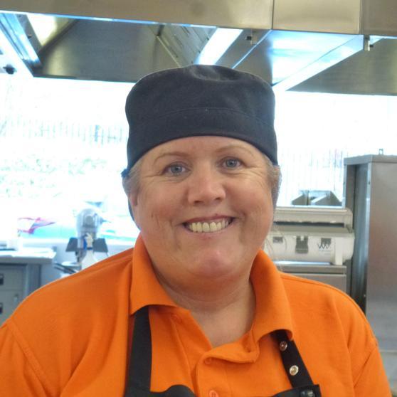 Mrs Nicholson, Assistant Cook