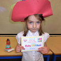 Ruby, Reception Class Runner-Up.