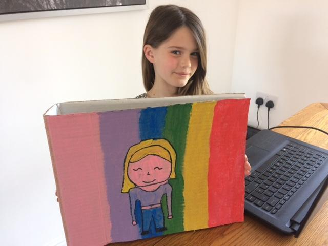 Amelia's artwork