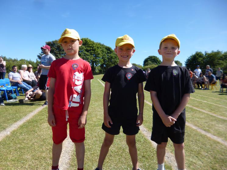 Year 2 Boys - Winners