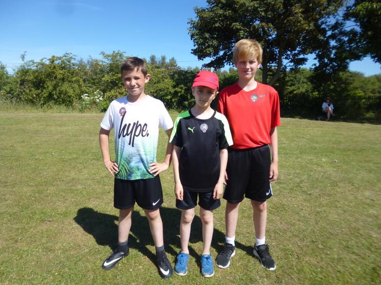 Year 5 Boys - Winners