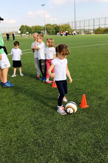 We learnt to dribble!