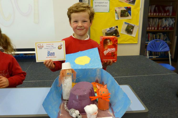 Reception Class Runner- Up: Ben