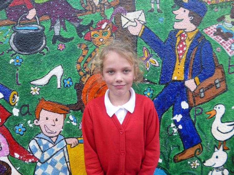 Millie, Year 4, Most Improved Runner
