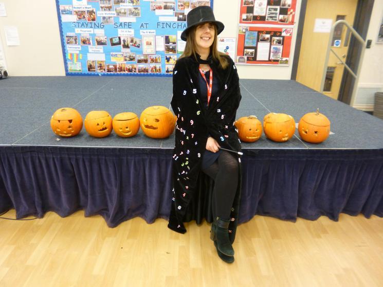 Staff, Winner Mrs Sleeman