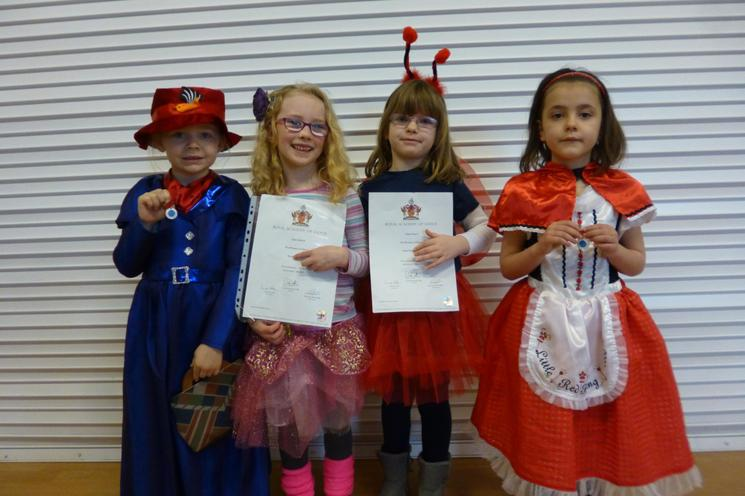 Well done to Harper, Eloise, Hollie & Annabelle