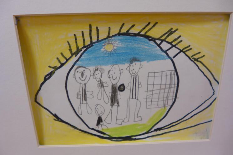 The Eye by  Year 6 (Artwork)