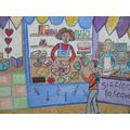 Maths mural