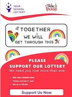 Thank you to everyone taking part in the lottery. We have already raised over £450